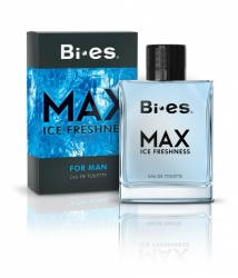 BI-ES EDT for Men Max ICE Freshness EDT 100ml