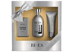 SET EGO PLATINUM PÁNSKÝ ( EDT 100ml, parfemek 15ml, Sprch.gel 50ml)
