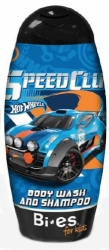 BI-ES sprchový gel 2v1 Hot Wheels Fast4WD 250 ml
