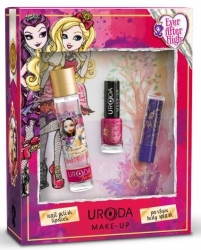 Dětský set EVER AFTER HIGH (parfem body splash 15ml + lak na nehty + rtěnka)